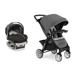 Chicco 3-in-1 Bravo LE Stroller + KeyFit 30 Magic Car Seat &