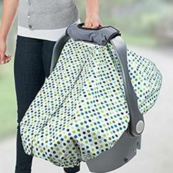 Summer Infant All-In-One Carry & Cover Baby Car Seat Cover,