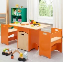 Art Table For Kids With Storage Toddler Classroom Preschool