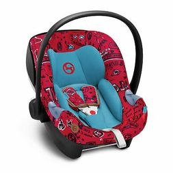 Cybex Aton M Rear Facing Car Seat with SafeLock Base, Love R