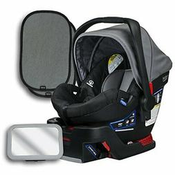 Britax B-Safe 35 Infant Car Seat, Dove, Back Seat Mirror, an