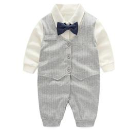 Fairy Baby Baby Boy Gentleman Outfit Formal Romper Infant Tu