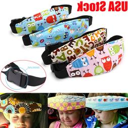 Baby Head Support Stroller Sleep Nap Aid Safety Strap Car Se