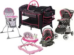 Disney Baby Pink Combo Set Stroller Car Seat Playard High Ch