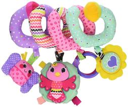 Baby Spiral Activity Toy Develop Play Fun Hanging Cute Strol