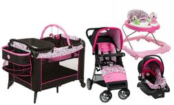 Disney Baby Stroller Travel System with Car Seat Infant Play