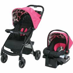 Baby Stroller with Car Seat Combo Newborn Infant Girls Trave