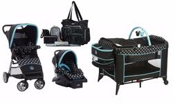 Disney Baby Stroller with Car Seat Travel System Diaper Bag