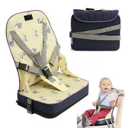 Baby Toddler Feeding Chair Foldable Dining High Booster Seat