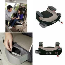 Graco Backless Booster Car Seat for Toddler Kids Travel Safe