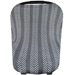 Baby Car Seat Cover Canopy and Nursing Cover Multi-Use Stret