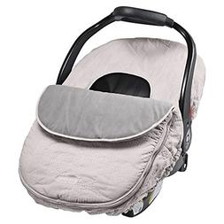 Car Seat Cover Weather Resistant Blanket Style Canopy Design
