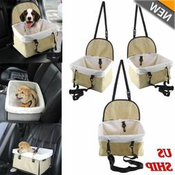 Car Seat For Dog Pet Cat Booster Seat Travel Box Lining Chai