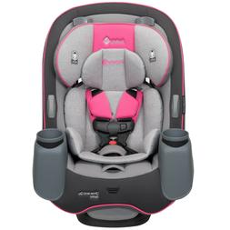 Car Seat Safety 1st  3 in 1 Convertible  Pink Silver Newborn
