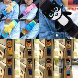 Cute Baby Child Stroller Car Seat Safety Belt Strap Cover Pa