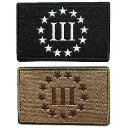 Emblem Three Percenter Swat Military Tactica Patch Tape Army