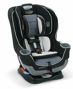 Graco Extend2Fit Convertible Car Seat in GOTHAM, Rear & Forw