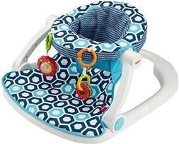 Fisher Price Sit Me Up Floor Baby Seat Blue Geo For Infant B