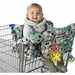 Grocery Shopping Cart Baby Seat Cover - Restaurant High Chai