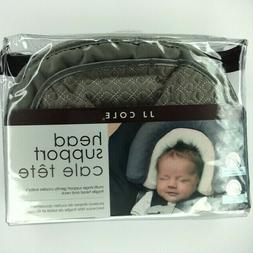 JJ Cole Head Support Graphite, Baby Boy or Girl, Car Seat, U