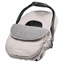 Car Seat Cover, Weather Resistant Blanket-Style Canopy
