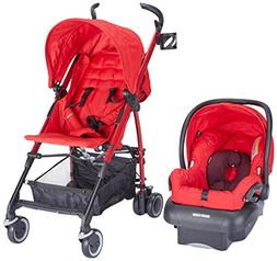 Maxi-Cosi Kaia and Mico NXT Travel System Intense Red