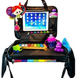 Kids Car Seat Travel Tray: Toddler Lap Activities and Snack