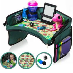 Kids Car Seat Travel Tray, Toddler Snack Table, Childrens Ac
