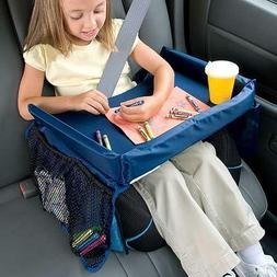 Kids Travel Tray for Snack Waterproof Safety Baby Car Seat T