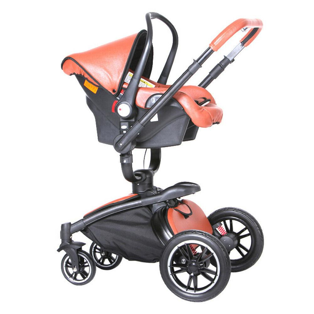 3 1 Baby stroller Jogger Travel stroller and car seat