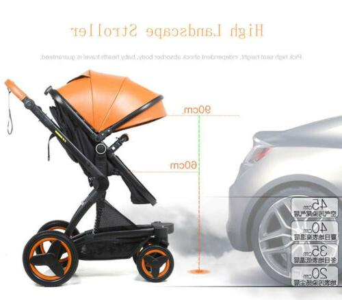 3 1 Foldable Baby Stroller View W/Car Seat