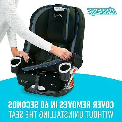 4Ever Baby Car Seat, Kendrick Blue