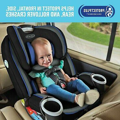 4Ever DLX 4-in-1 Baby Car Seat, Blue