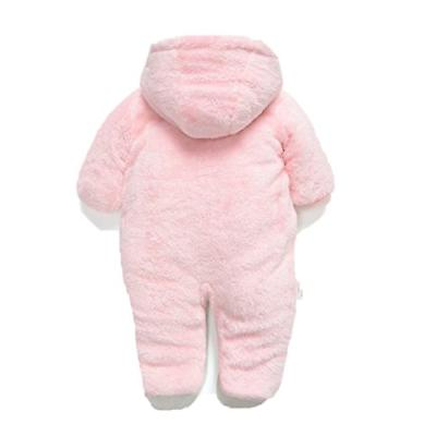 Fairy Boy Girl Winter Flannel Outfits Outwear,3-6M,Pink