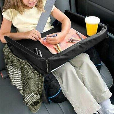 Waterproof Baby Snack Car Seat Table Play Tray Board