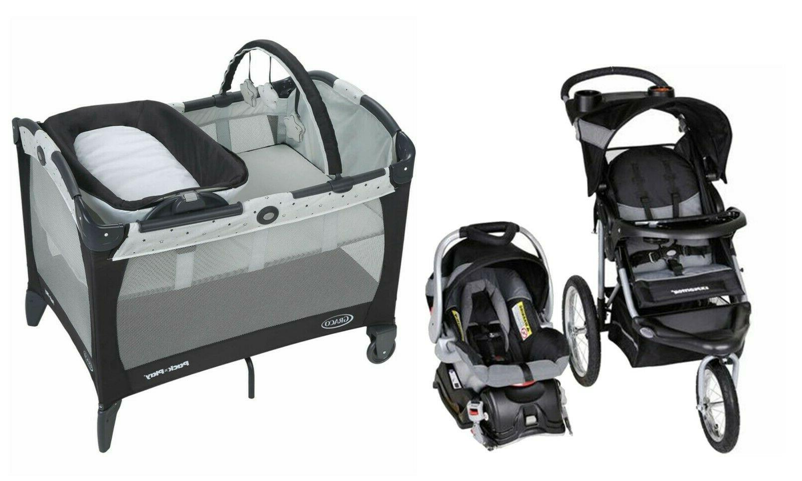 baby trend stroller with car seat travel