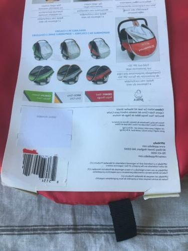 UPPABABY SEAT SHIELD NEW IN PACKAGE