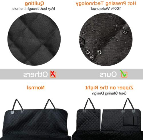 Car Dogs, Waterproof Dog Seat Cover Seat