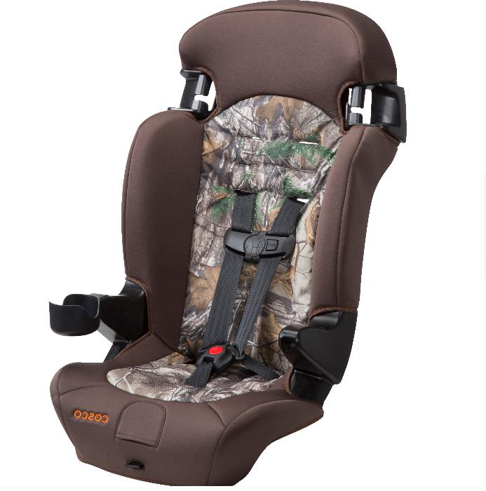 Convertible Safety 2 in1 Booster Kid Brown