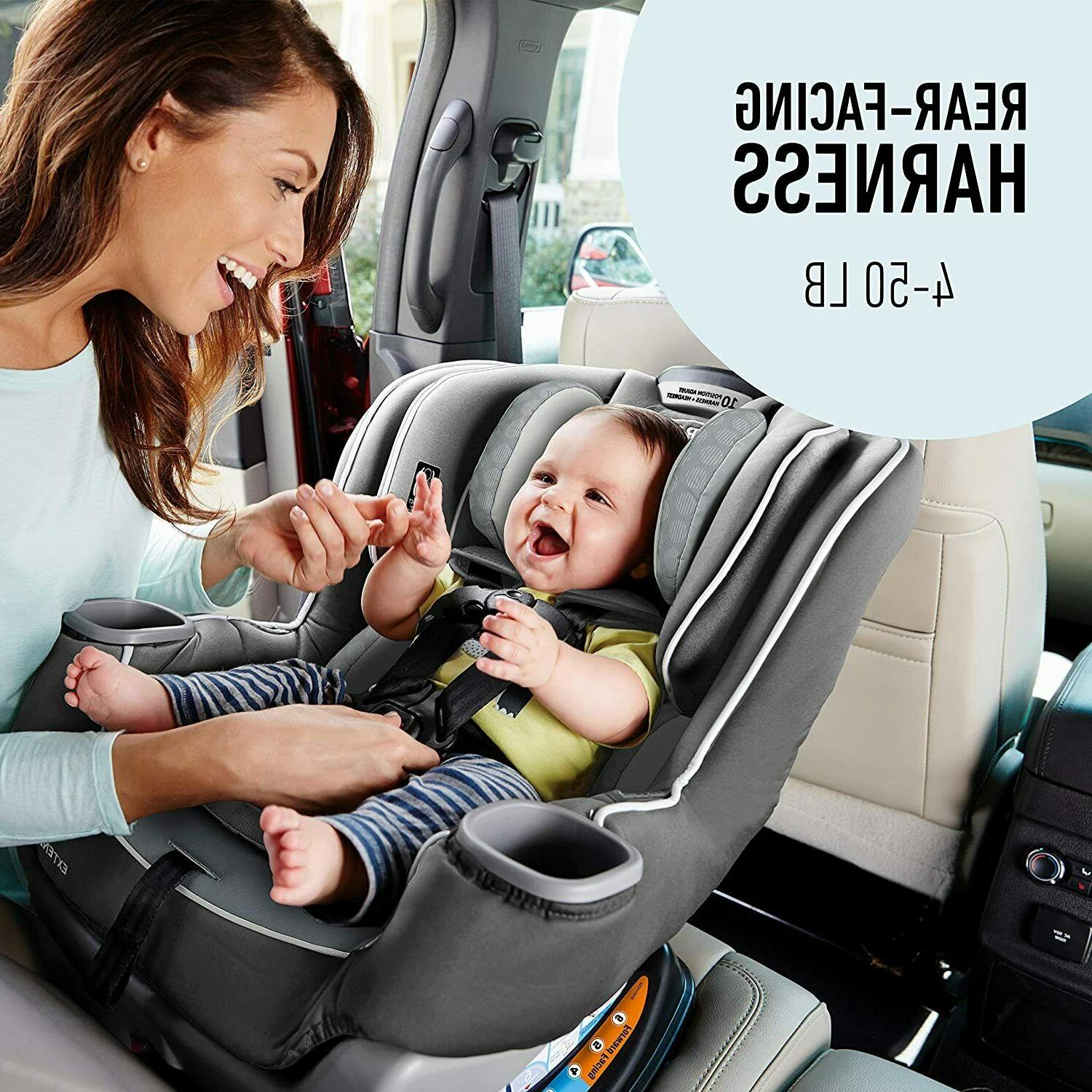 Graco Extend2Fit Seat | Facing