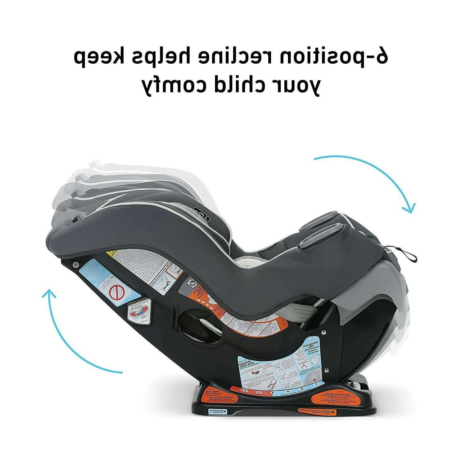 Graco Extend2Fit Convertible Seat Facing with