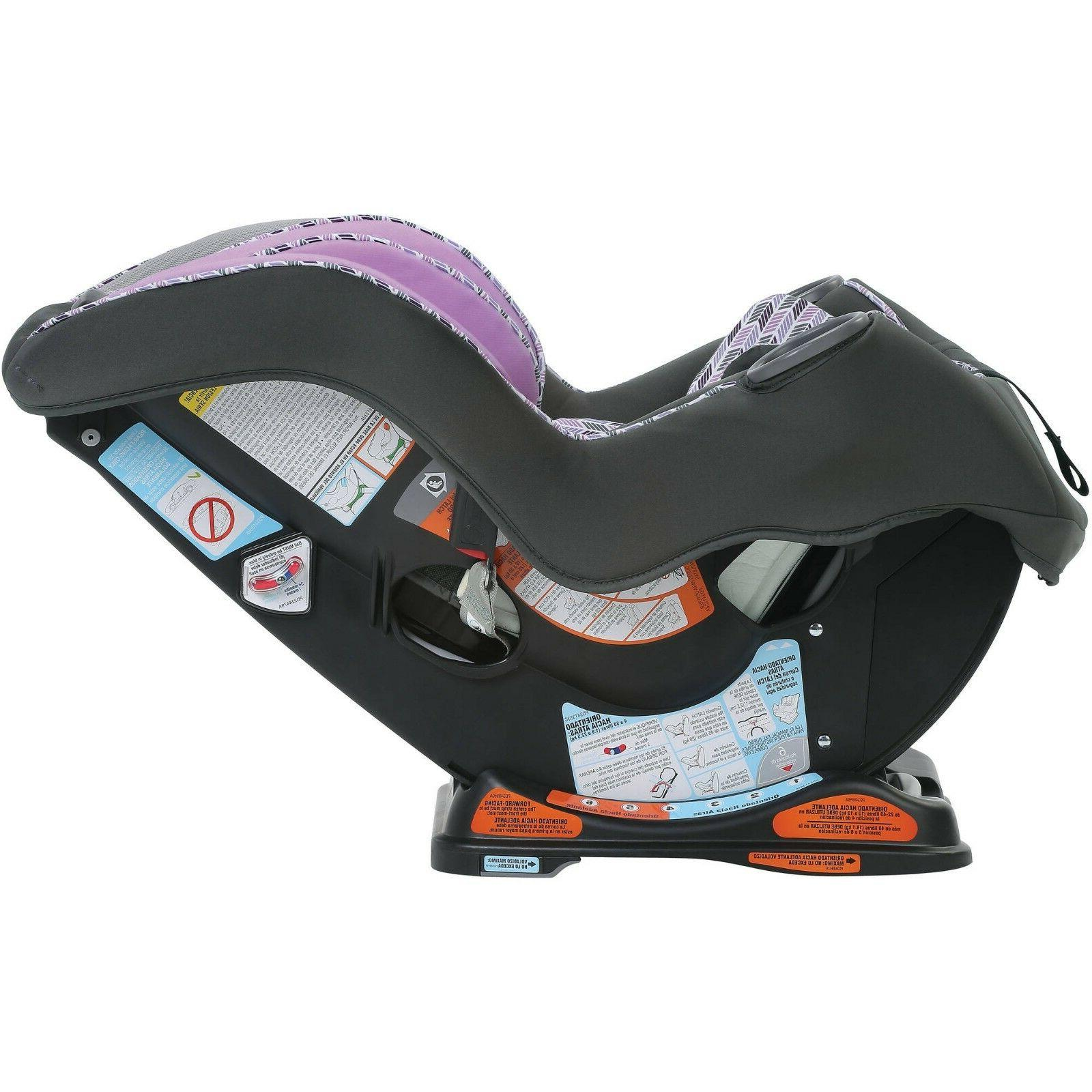 New Graco Purple Convertible Car Seat Baby Vehicle
