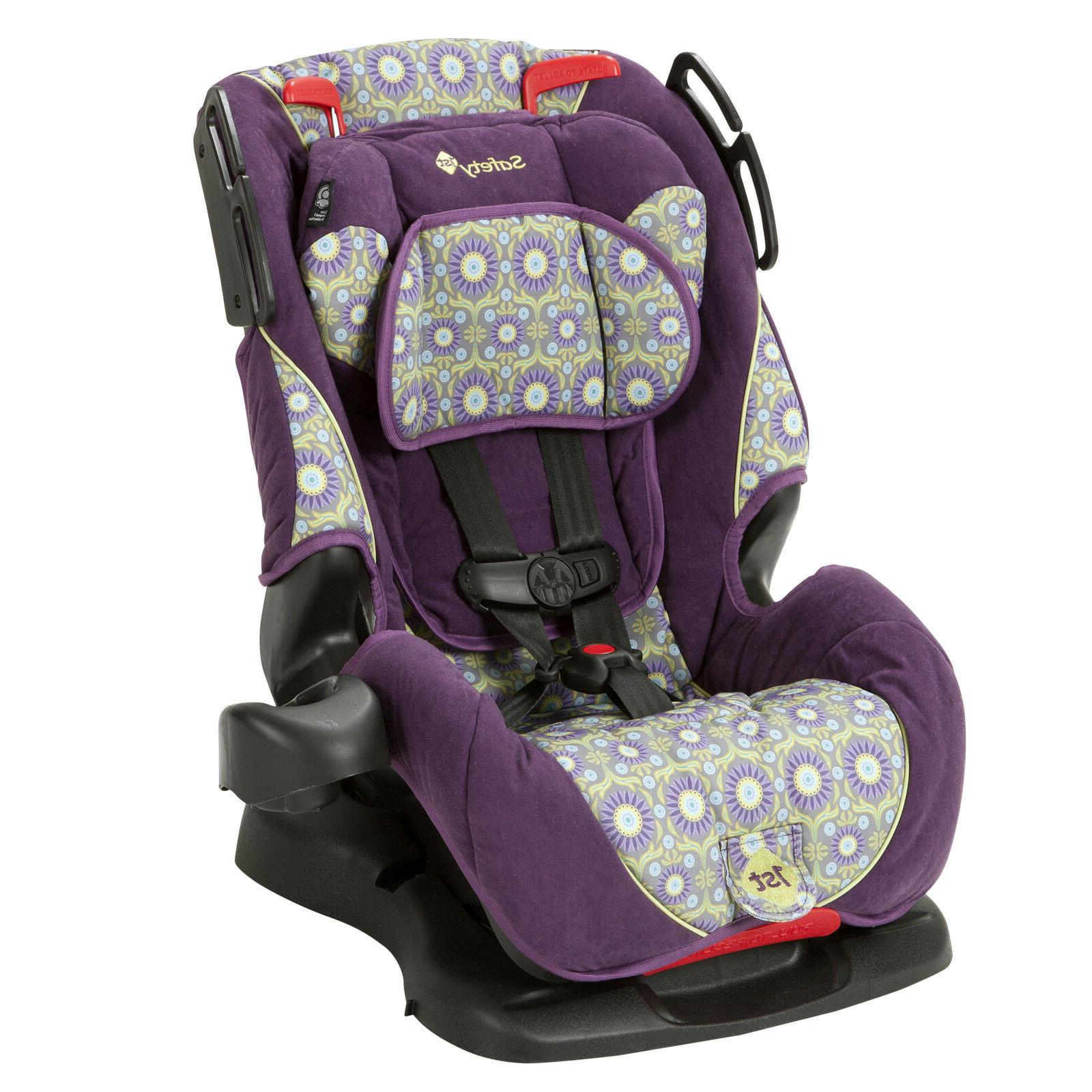 one convertible car seat