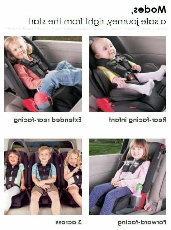 Diono 3 All-in-One Child Car Blue