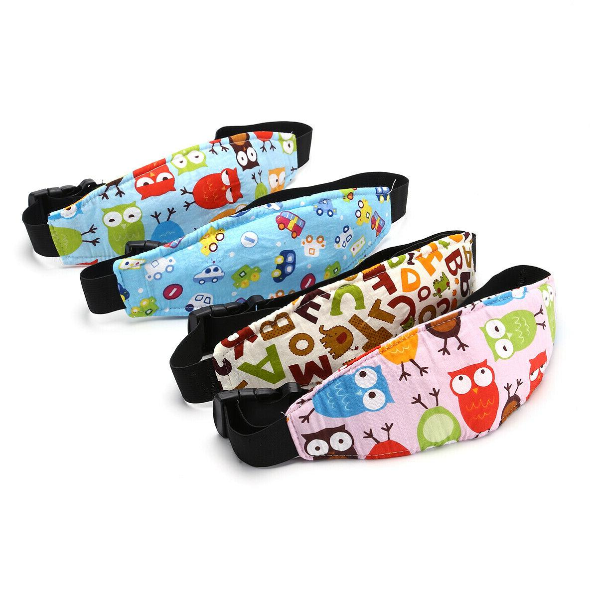 Baby Head Support Sleep Nap Strap Car Belt