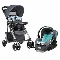 Cosco Lift and Stroll Plus Travel System, Very Berry