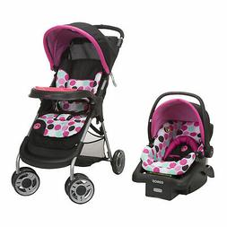 Disney Baby Minnie Mouse Lift & Stroll Plus Travel System St