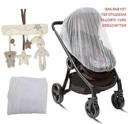 Mosquito Net & Toy Bar Shape Music for BabyZen Baby Stroller