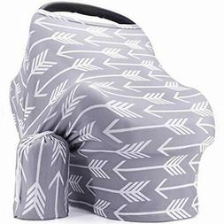 New Breastfeeding Nursing Cover - Baby Car Seat Cover for Gi