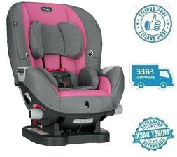New Pink Gray Convertible Car Seat Vehicle Booster Chair For